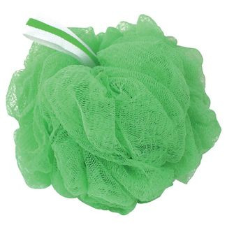 Loofah Bath Scrubby, Green Bath Sponges