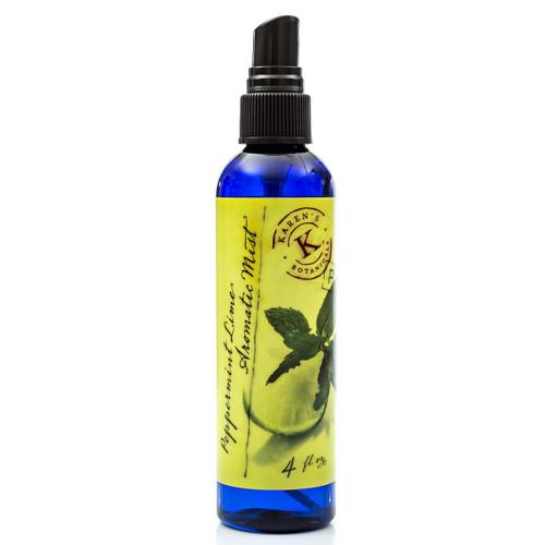 Peppermint Lime Mist, Citrus body spray, Spray fragrance,  body mister, bath and shower mist,  room spray, natural aroma mist, natural deodorant, natural body and room deodorant, calming body spray, organic fragrance,
