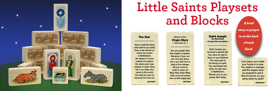 Little Saints Playsets and Blocks