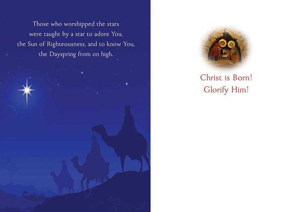Star of Wonder, pack of 15 Christmas cards