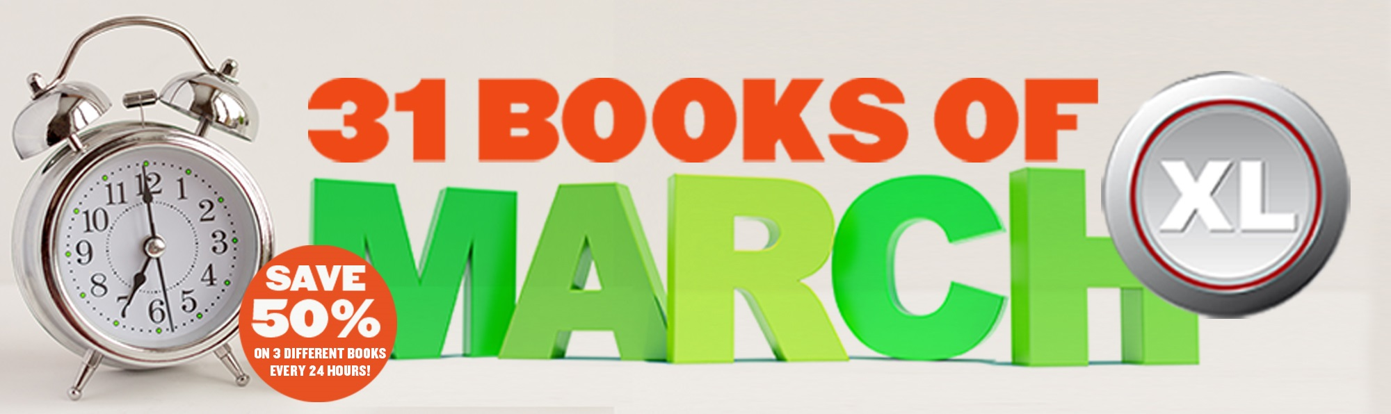 31 Books of March XL