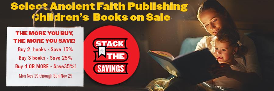 Stack the savings on children's books!