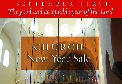 Church New Year Sale - Save up to 55%!