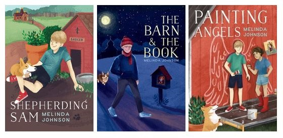 Sam and Saucer 3-Book Set (Shepherding Sam, The Barn and the Book, Painting Angels)