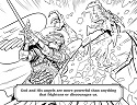 St Michael Coloring Page 2