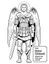 St Michael Coloring Page 1