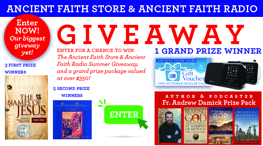Ancient Faith Store and Radio Summer Giveaway