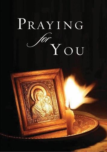 Praying for You, individual card