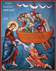 Jesus Walking on the Water, large icon