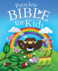 Paraclete Bible for Kids by Juliet David and illustrated by Jo Perry. Ages 1-7.