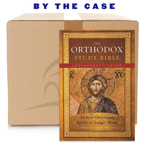 The Orthodox Study Bible, Ancient Faith Edition, Leathersoft: Ancient Christianity Speaks to Today's World (case of 14)