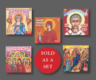 Set of 5 Kid's Paterikon books for the Lenten / Paschal season including The Resurrection of Christ