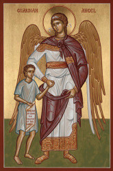 Guardian Angel with Boy, medium icon