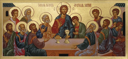 Mystical Supper (Last Supper), large icon