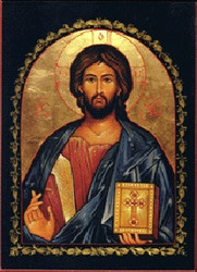 Christ the Teacher, large icon