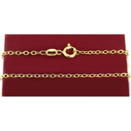 "20"" Goldtone Chain"