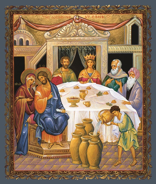 The Wedding at Cana, large icon   Ancient Faith Store