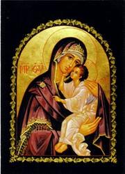 Mother of God, Lovingkindness, medium Orthodox icon
