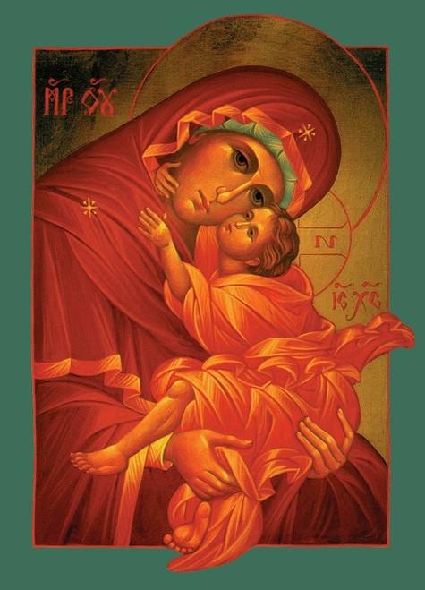 Mother of God, medium icon