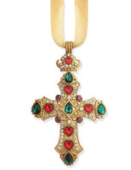 Ornament, Jeweled Cross