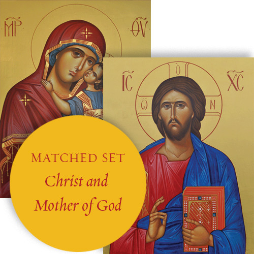 Matching set: Christ the Teacher & Sweet Kissing, medium icons