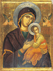 Virgin of Passion, large icon
