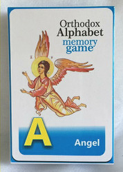 Orthodox Alphabet Memory Game
