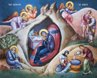 The Nativity of Christ (Christmas), large icon
