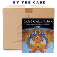 "2019 Icon Calendar, Icons of Angels and Angelic Visitations (case of 55). This calendar uses dates according to the new calendar - the standard calendar used by secular government, also known as the ""Gregorian"" calendar."