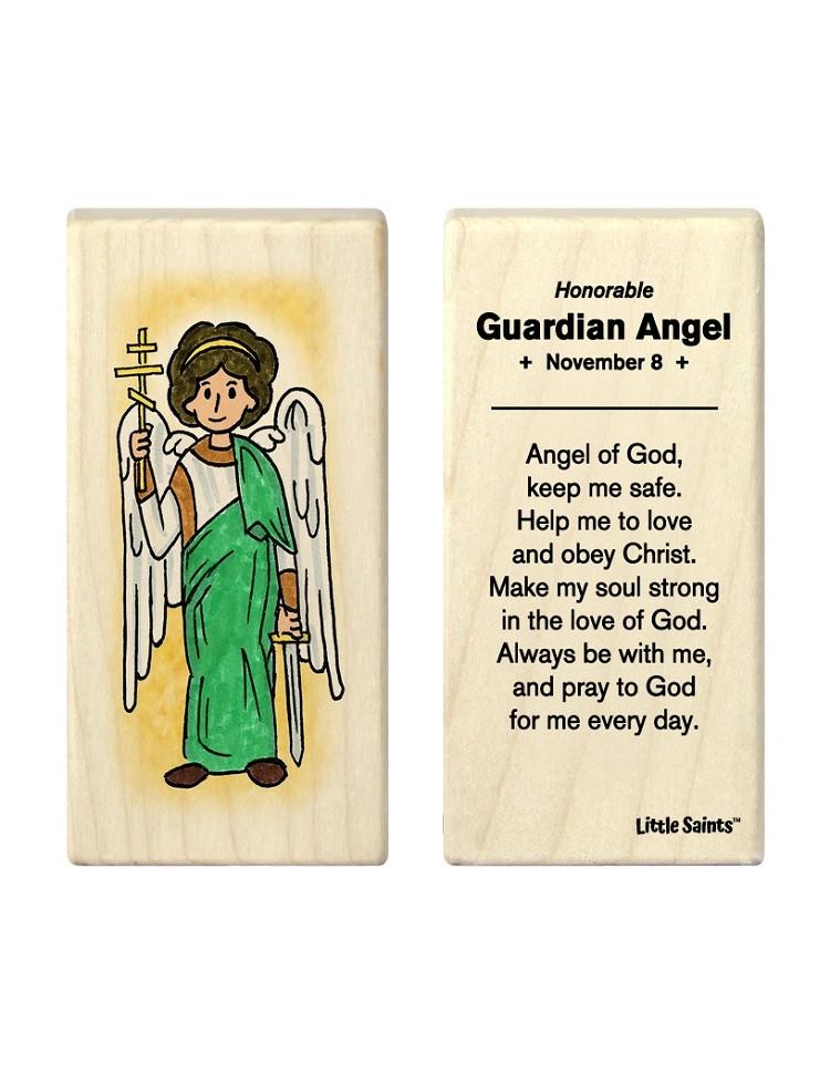 Little Saints Guardian Angel Individual Block