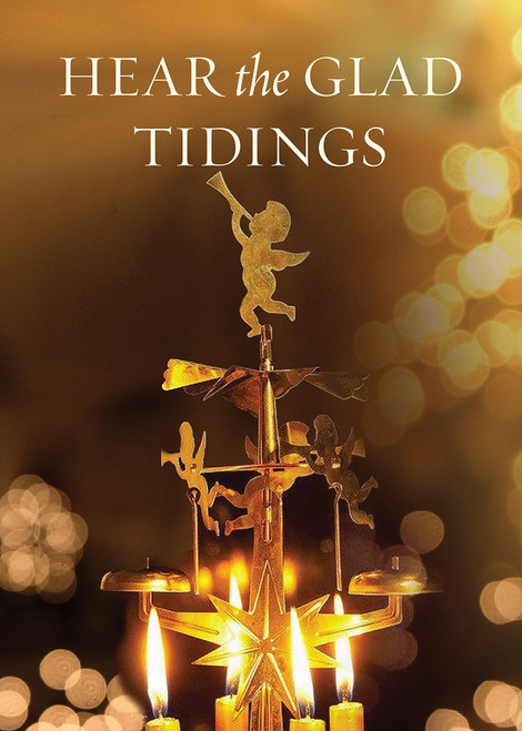 Hear the Glad Tidings, pack of 15 Christmas cards