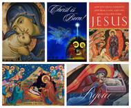Mixed Pack of Classic Christmas Cards, including Virgin and Child, Star of Bethlehem, and more!