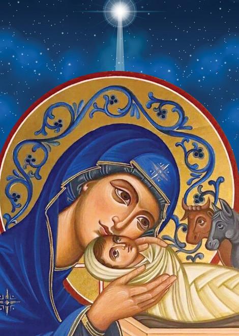 Light of Christ, individual Christmas card