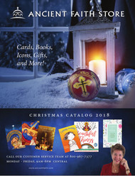 2018 Christmas Catalog. 56 pages of books, icons, Christmas cards, gifts for children, and much more!
