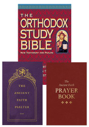 Traveler Gift Set: OSB New Testament / Ancient Faith Psalter / Ancient Faith Prayer Book