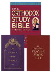 Traveler Gift Set: OSB New Testament / Ancient Faith Psalter / Ancient Faith Prayer Book
