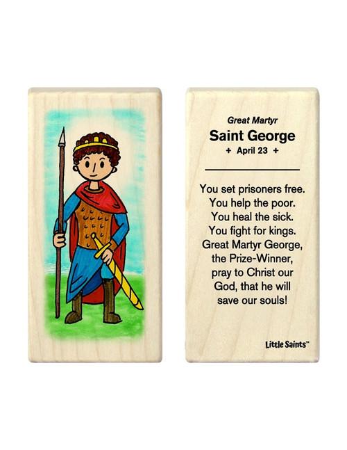 Little Saints Saint George Individual Block