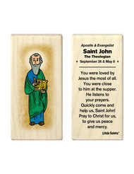Little Saints Saint John the Theologian Individual Block