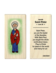 Little Saints Saint Peter Individual Block