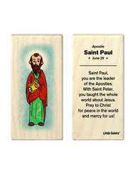 Little Saints Saint Paul Individual Block