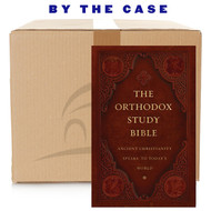 The Orthodox Study Bible, Ancient Faith Edition, Hardcover: Ancient Christianity Speaks to Today's World (case of 12)