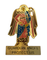 Auto Visor Clip, Guardian Angel icon