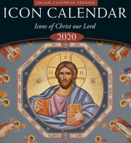 2020 Icon Calendar, Icons of Christ our Lord (Julian version, old calendar)