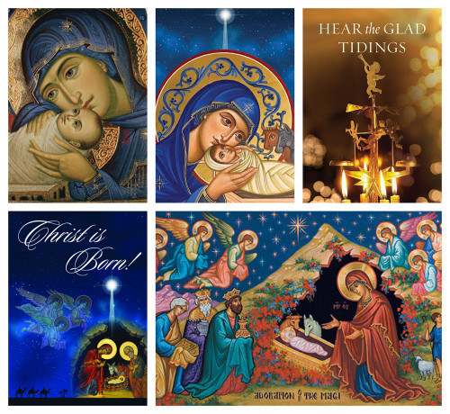 Mixed Pack of Classic Christmas Cards (2019)