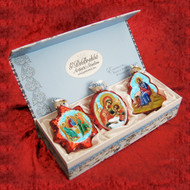 Ornament, 3-piece set in a gift box