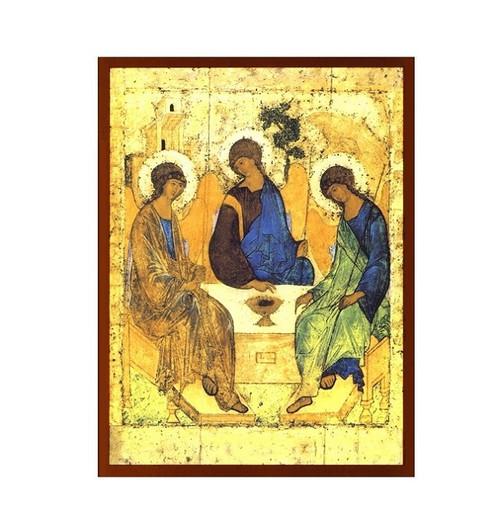 Magnet, Holy Trinity icon