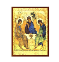 Magnet, Holy Trinity icon