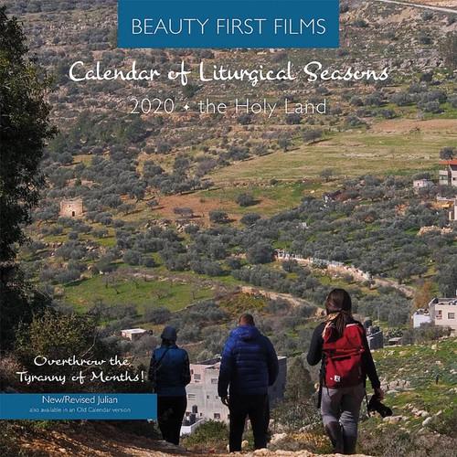 2020 Calendar of Liturgical Seasons, The Holy Land