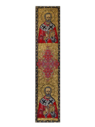 Tapestry bookmark, Saint Nicholas