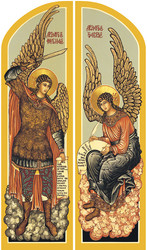 Diptych: Holy Angels, large icons